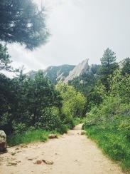 Hiking at Chautauqua