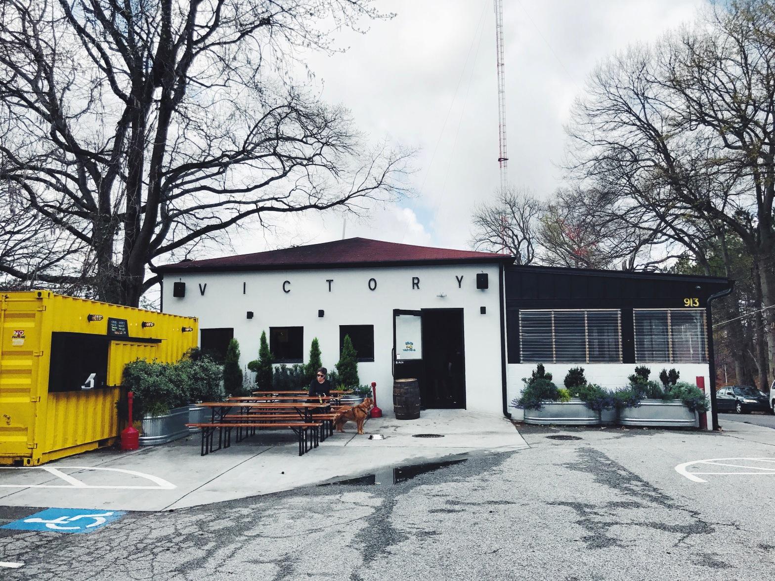 Victory sandwich bar in Inman Park, Atlanta GA
