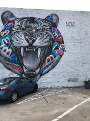 Atlanta tiger mural