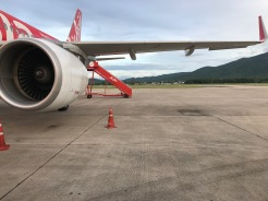 Flying to Krabi town