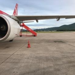 Flying to Krabi town