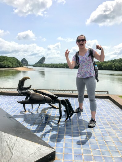Krabi town is named after crabs!
