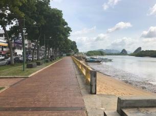 River walk in Krabi