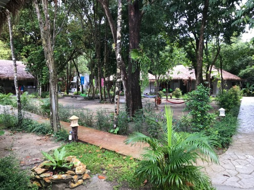 Common area at Hostel Blanco