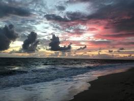 Sunset from Long Beach, Thailand
