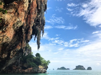 Limestone cliffs at Railay Beach