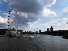 The London Eye and the Thames