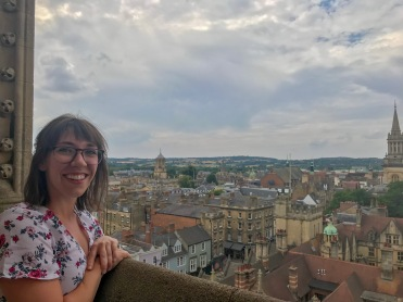 The view of Oxford, from University Church