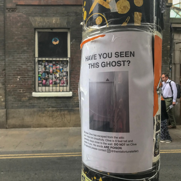 But really, have you seen this ghost?