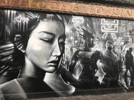 Street art in East London