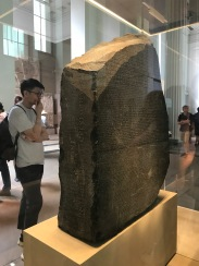 The Rosetta Stone.